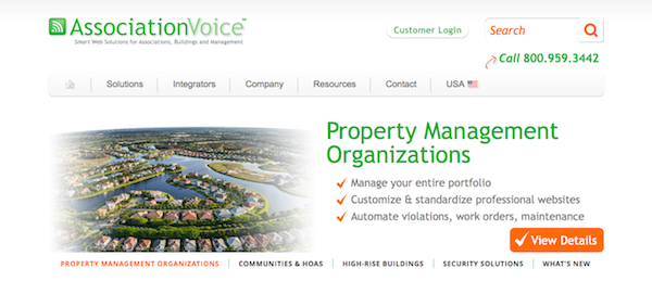 Association Voice website