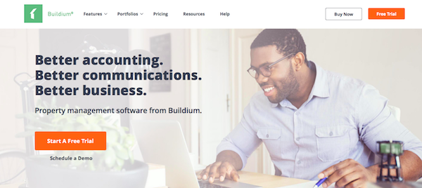 Buildium website