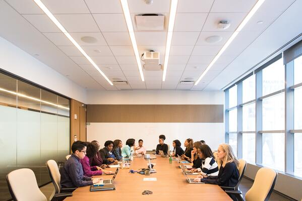 business people in a boardroom